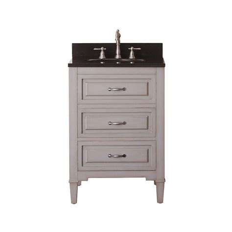 24 bathroom vanity with granite top avanity 24 inch w vanity in greyish blue finish with