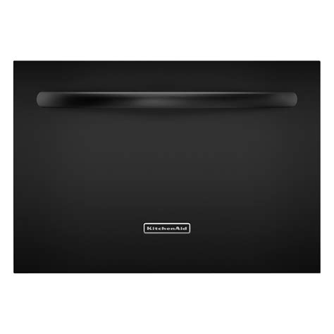 One Drawer Dishwasher kitchenaid kudd03stbl 24 quot single drawer dishwasher black sears outlet