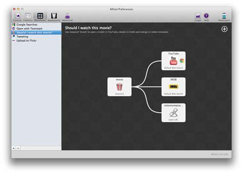 alfred app workflows v2 sneak peek workflows alfred