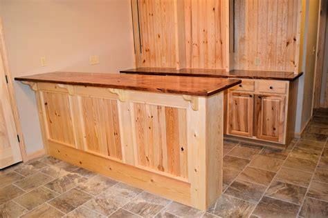 Wood Bar pine wood bar ak britton construction llc