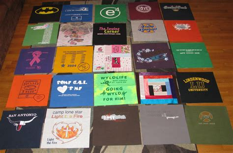 Blanket Out Of T Shirts by Diy Basic T Shirt Quilt Tutorial Part 1 Totally Stitchin