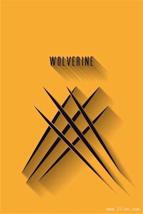wallpaper iphone 5 wolverine 创意图标iphone壁纸