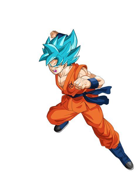 imagenes de goku pelo azul goku ssj dios azul by supergoku37 on deviantart