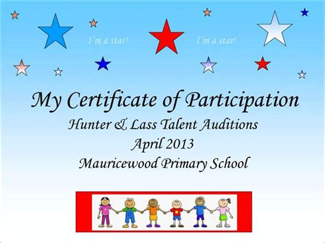 talent show certificate 22 best images about school talent show on