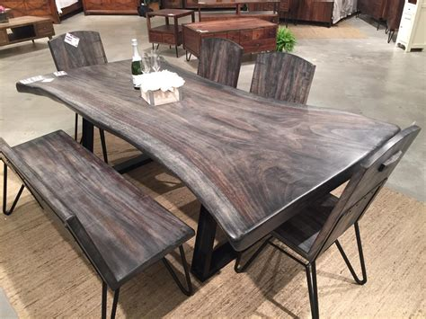 Antique Dining Room Sets For Sale by Live Edge Walnut Table Horizon Home Furniture
