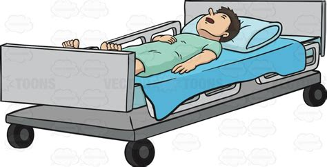 cama hospital website person in hospital bed clipart clipartxtras