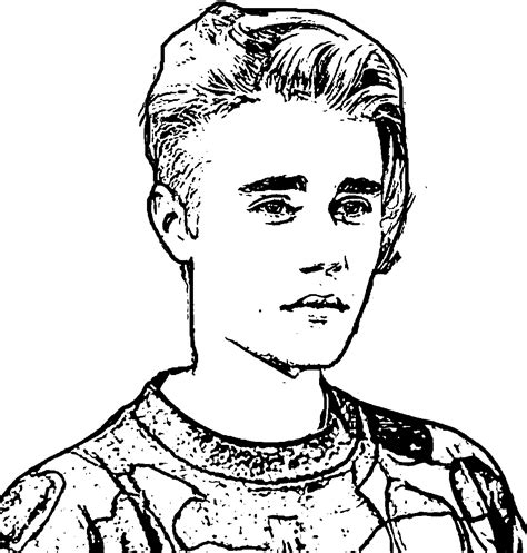 justin bieber coloring pages justin bieber coloring pages coloringsuite
