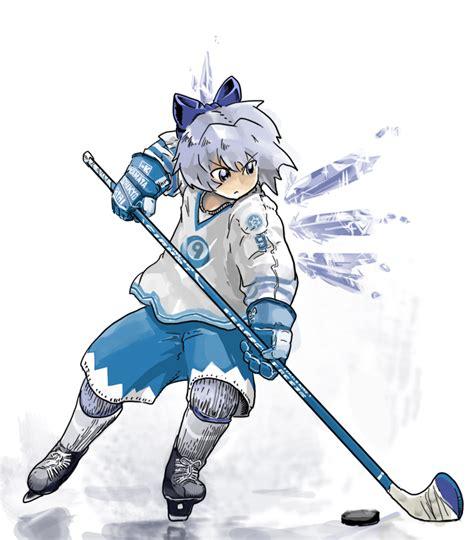 Kaos Anime Canada Knows Hockey cirno touhou image 557582 zerochan anime image board