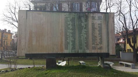 cap di fiorano modenese monumento ai caduti di fiorano modenese pietre della memoria