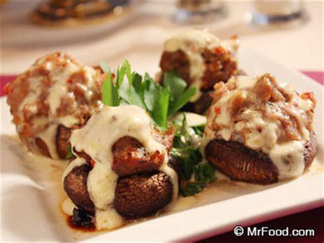 fancy vegetables for dinner stuffed mushrooms a la ritz mrfood