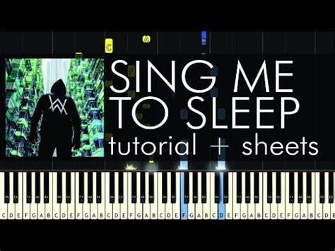 alan walker sing me to sleep reggae 2016 youtube alan walker sing me to sleep piano tutorial how to