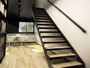 escalier bois pas cher acheter un escalier limons d 233 coup 233 s en cr 233 maill 232 re stairkaze