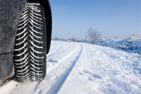 Improving Winter Performance with Winter Tyres