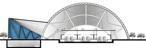 train section ismailia train station architecture concept design arch