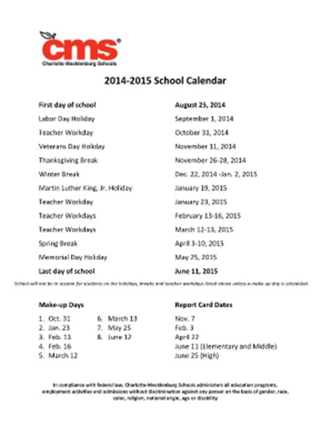 Mecklenburg School Calendar February 2014 Calendar Forms And Templates Fillable