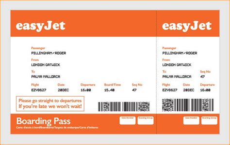 parking airline format for simple boarding pass easyjet search weddings boarding pass and wedding