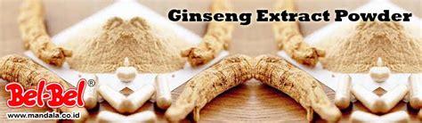 Ekstrak Ginseng ekstrak ginseng panax bel bel makanan minuman