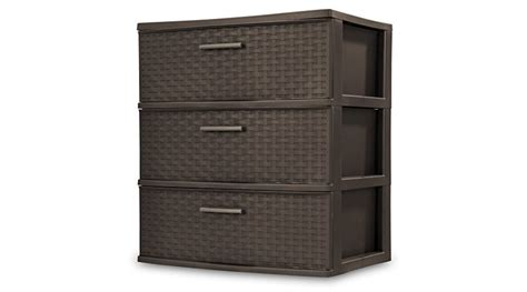 sterilite 4 drawer wide weave tower espresso 1 pack highly rated sterilite 3 drawer wide weave tower jungle