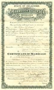 Marriage License Evidence Explained Marriage License And Certificate On