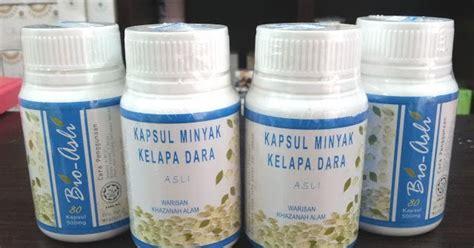 Kapsul Minyak Kelapa Dara Bio Asli kapsul minyak kelapa dara bio asli eliza trading
