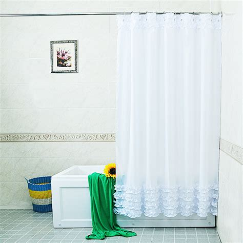 Weather Resistant Curtains Bathroom Fabric Shower Curtain Include 12 Hooks Water Resistant Shower Curtain Ebay