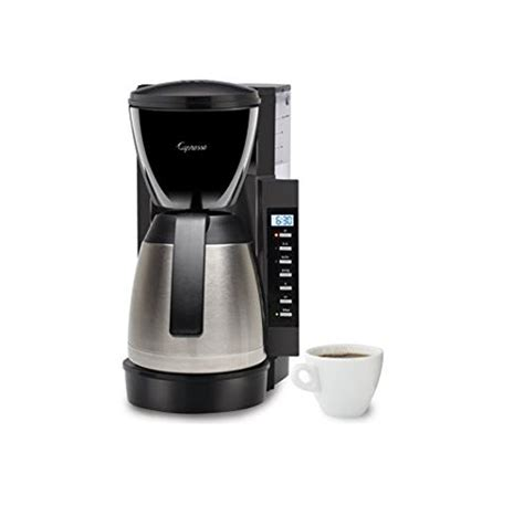 Coffee Maker Stainless 0027200006 capresso cm 300 stainless steel thermal coffeemaker 475 05 reviews best coffeemakers