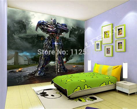 how to prime a room free shipping children room 3d stereo transformers optimus prime television wall mural wallpaper