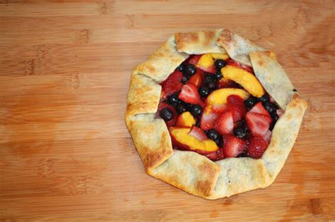 fruit galette 5 minute rustic fruit galette