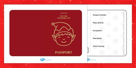 printable elf passport elf passport writing frame christmas elf passport writing