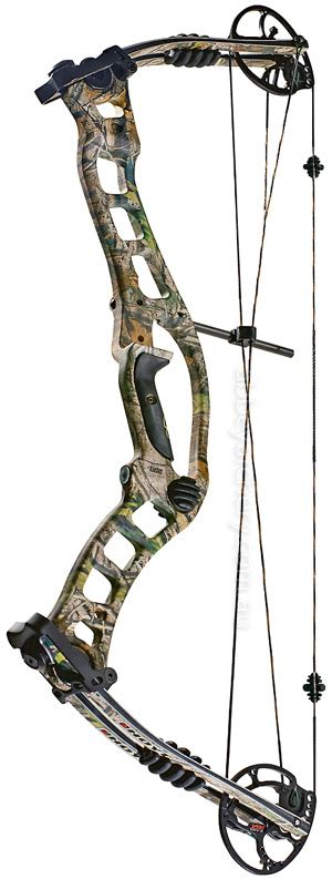 Hoyt Turbohawk Camo Camo Bone Collector