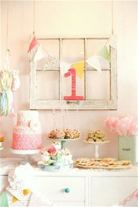 first birthday parties first birthdays and shabby chic on