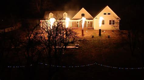 the christmas light show 2013 wizards wall township