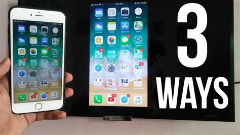 3 ways to screen mirror iphone to any tv no apple tv required