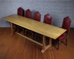 10 Seater Dining Table 10 Seater Oak Refectory Dining Table C 1910 Antiques Atlas