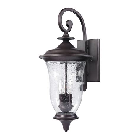 oil rubbed bronze outdoor wall light seeded glass outdoor wall light oil rubbed bronze thomas