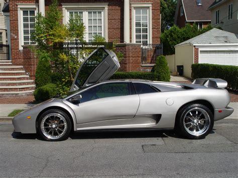 silver lamborghini diablo 2001 titanium silver lamborghini diablo 6 0 chevy engine