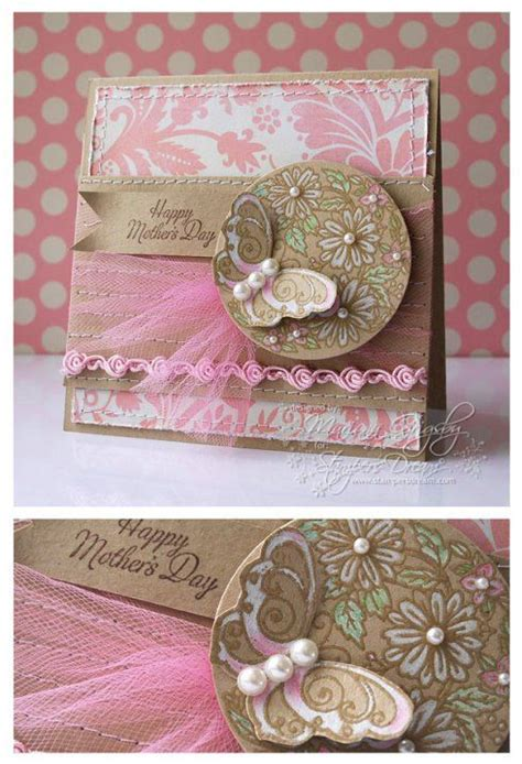 Attractive Handmade Cards - happy mother s day beautiful handmade cards tulle and