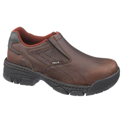s wolverine 174 ayah peak ag ct slip on shoes 584190