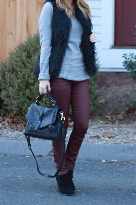Dear Fashion Mafia Black Sweater Fur Sleeves by 17 Best Ideas About Oxblood On Burgundy