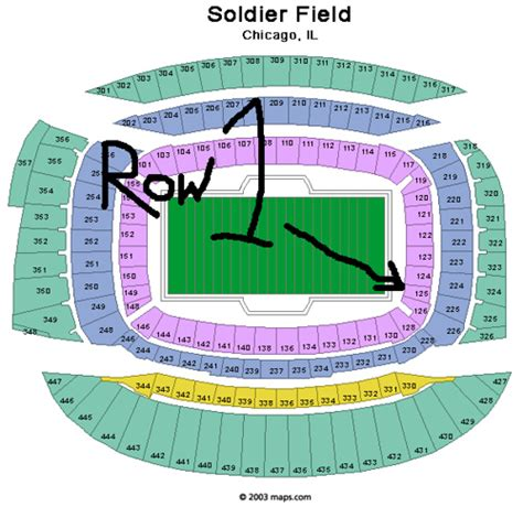 soldier field seating chart soldier field seating chart h3kterrific flickr