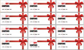 coupon template for word creative ms word gift coupon templates document templates