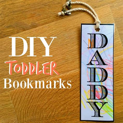 Diy Mba by How To Make Diy Bookmarks With Your Toddler Mba Sahm