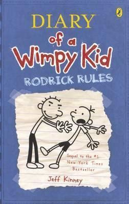 rodrick rules diary of a wimpy kid jeff kinney 9780143303848