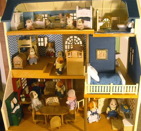 calico critters deluxe village house calico critters wallpaper wallpapersafari
