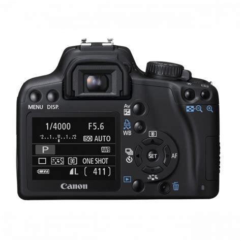 Kamera Canon 1000d Kit 18 55mm canon eos 1000d spejlrefleks kamera 18 55mm lens kit sort kamera 216 vrige enheder andet