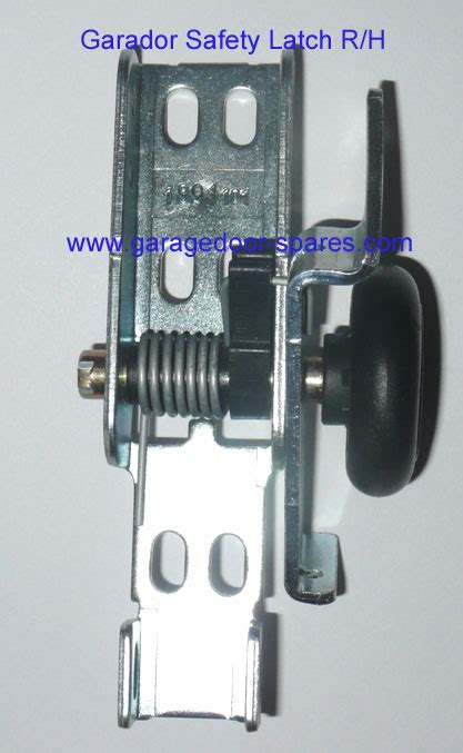 Hormann Garage Doors Spare Parts by Hormann Garador Safety Latch And Roller Wheel R H Garage