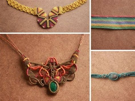 Cavandoli Macrame Tutorial - 1000 images about macrame on macrame necklace