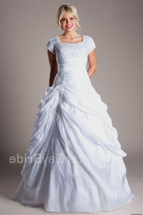 Discount Lds Wedding Dresses by Modest Wedding Dresses Lds Dress Yp