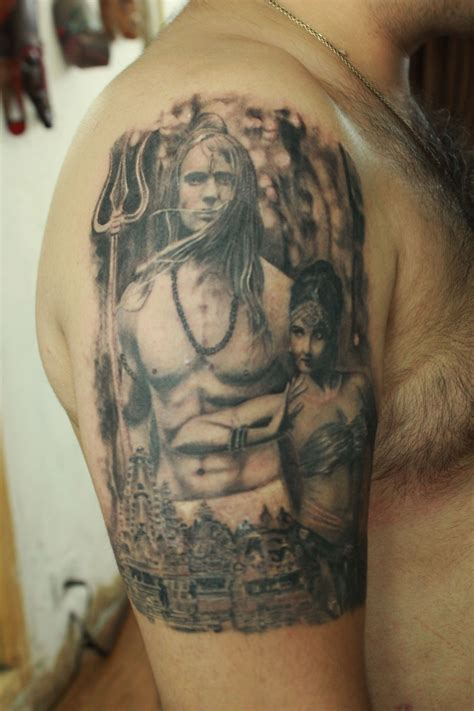 lord shiva tattoos for men collection of 25 back shoulder lord shiva
