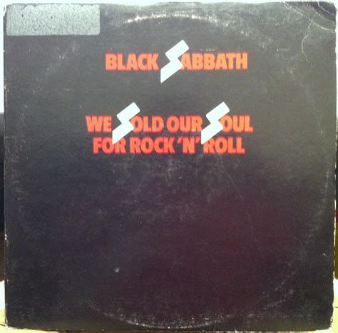 We Sold Our Soul black sabbath we sold our soul for rock n roll vinyl